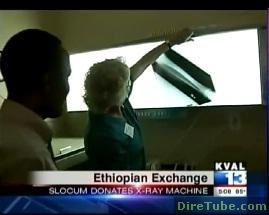 Slocum Center in Eugene, Oregon donates x-ray machines to Ethiopia