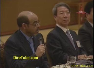 Meles Zenawi Speech in Korea Seoul Summit 2010