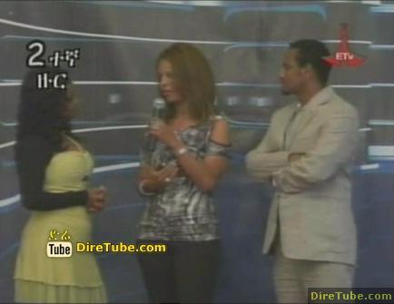 Film Actress Tseday on Ethiopian Idol