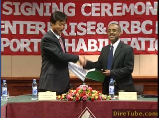 EAE signs 1.1b Birr contract agreement with CRBC