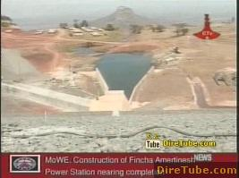Construction of Fincha Amertinesh Power Station nearing completion