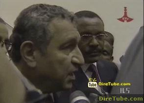 Egypt PM Arrived in Addis Ababa