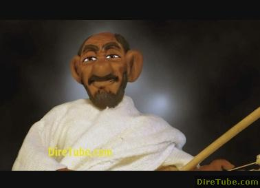 Clay Animation - Old man singing - NICE ON