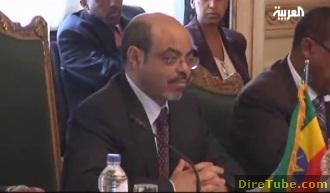PM Meles meets with his Egyptian counterpart to discuss Abay Dam