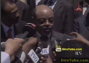 Ethiopian News - PM Meles says Abay Dam Construction will not be stopped for a minute