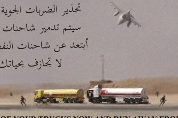 US Air Force bombs 238 ISIS oil trucks in Syria