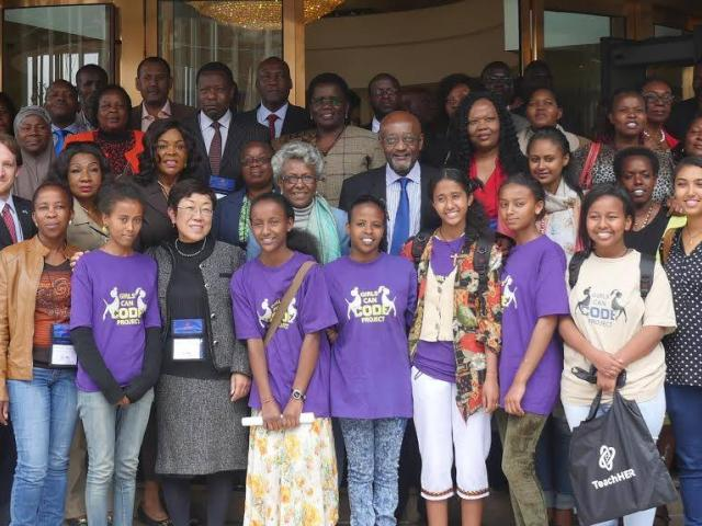"""NAUGURAL """"TeachHer"""" MASTER CLASS LAUNCHED IN ETHIOPIA"""
