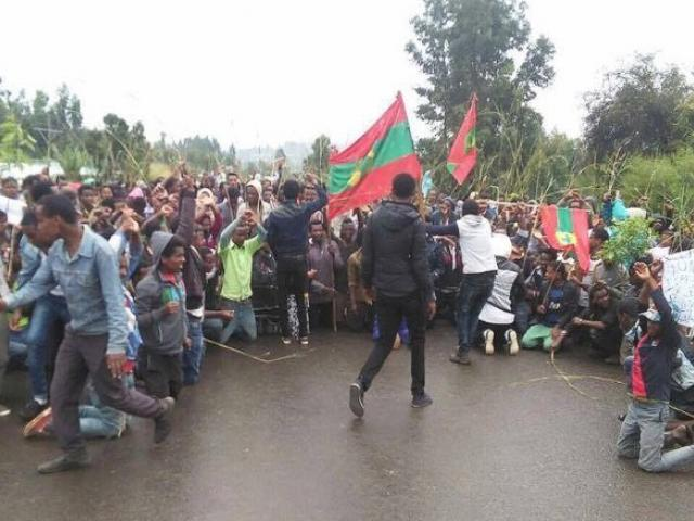 People are now against a two decades old silence of oppression in Ethiopia