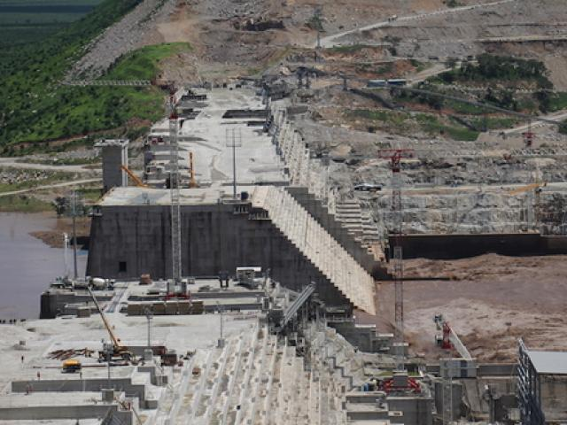 GERD construction going full steam while Egypt-Ethiopia talks stall