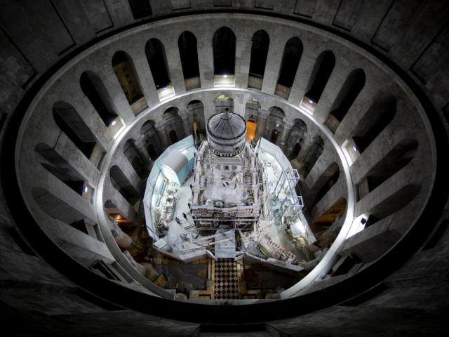 Exclusive: Christ's Burial Place Exposed for First T...