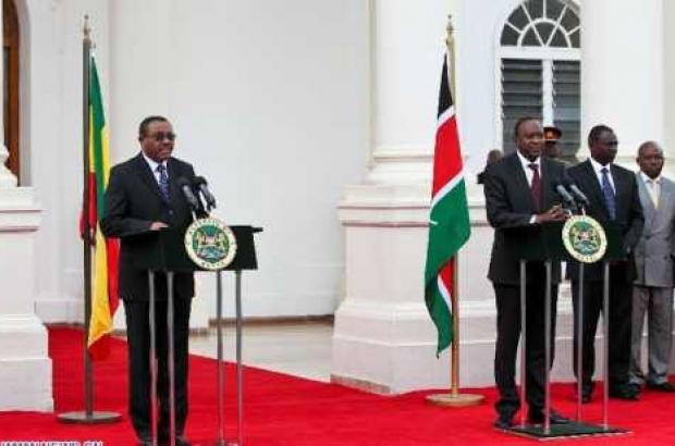 Hailemariam begins three-day state visit to Kenya today