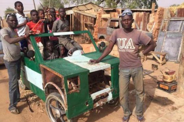 Meet the Nigerian Auto Genius who Make Cars from Scraps