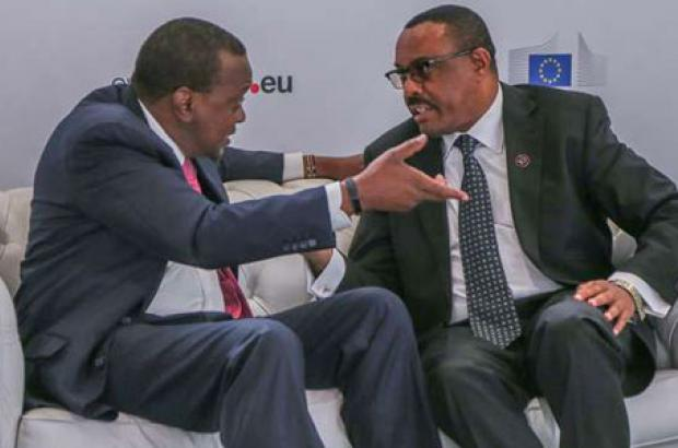 A Talk on Terrorism Hold Centre Stage on PM Hailemariam's Visit to Kenya