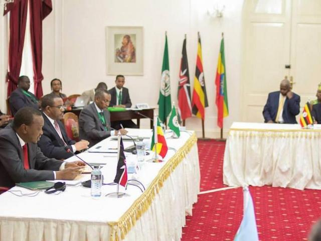 In a meeting in Ethiopia, IGAD urged Kenya to keep its troops in South Sudan