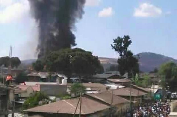 Fire breaks out in the largest Prison in Gondar City