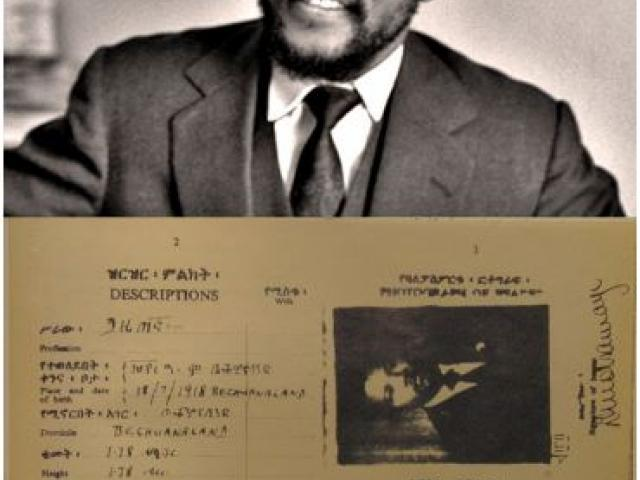 It was yesterday, 26 June 1962 Nelson Mandela arrived in Ethiopia for military training