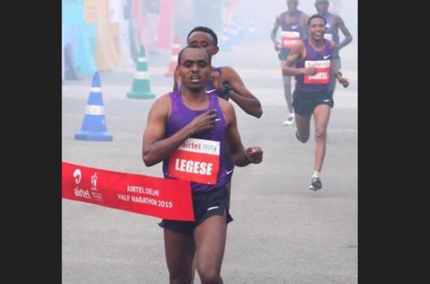 Ethiopia's Legese clocks 59:20 to win Delhi Half Marat...