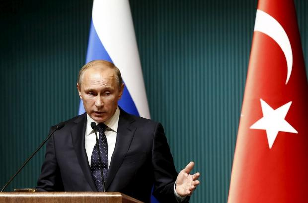 Putin signs sweeping economic sanctions against Turkey