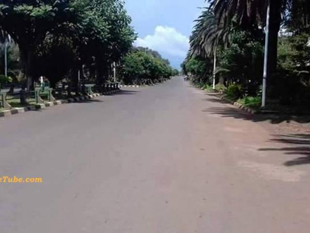 Bahirdar remained quiet amid a second day house sit- in campaign