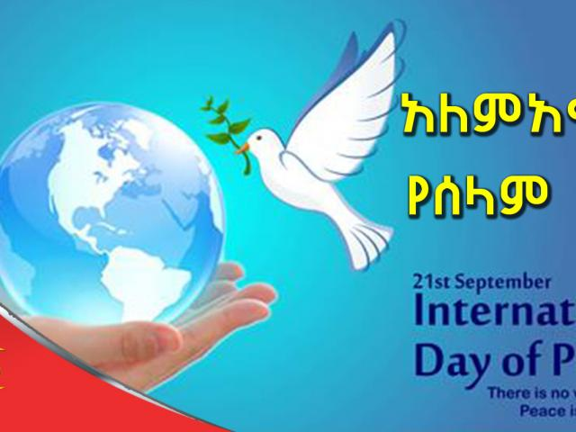 Today International Day of Peace Marked, So Let Peace Be Up On All of Us