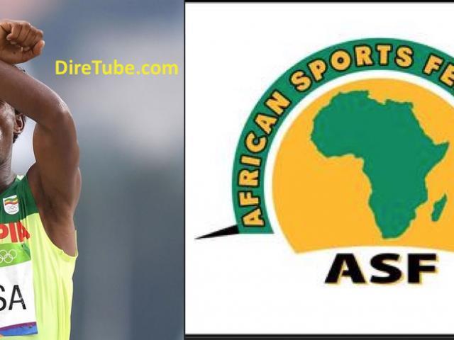The African Sports Federation honoured Feyisa Lilesa
