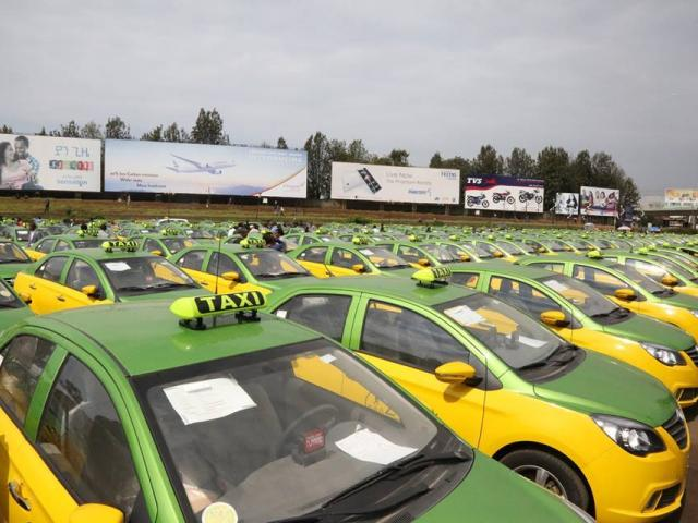 836 City Cabs Start Service in Addis