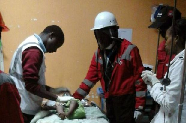 Child rescued in Kenya building collapse