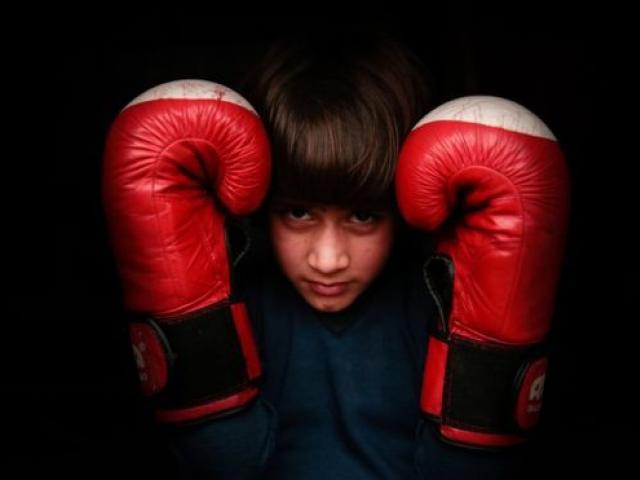The nine-year-old Kashmiri girl who rules the kickboxing world
