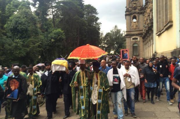 Funeral Held for Artist Seble Tefera