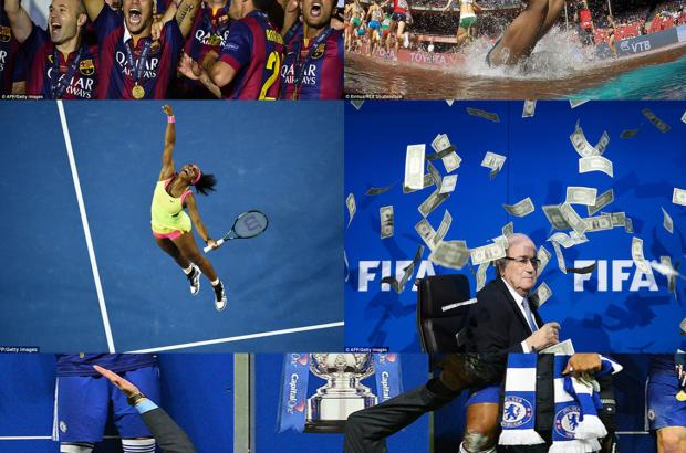 Sport pictures of the year 2015: How Many of these Sporting Events have you watched in 2015
