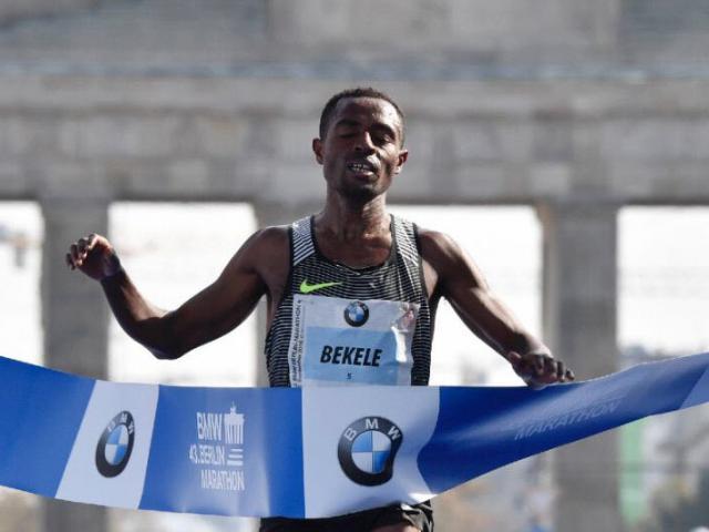 Ethiopian Athlete Kenenisa Bekele wins Berlin marathon