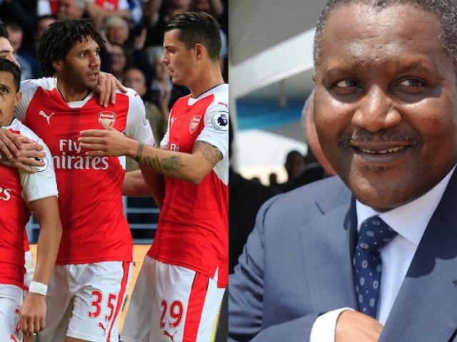 Dangote's Dream to Buy the Gunners
