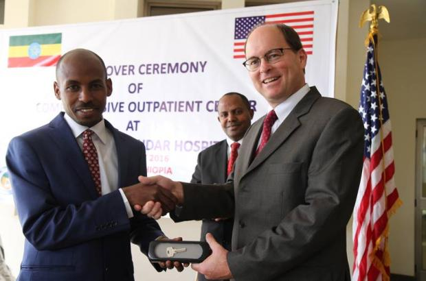 Press Release: New Outpatient Center Built by the U.S. Government Opens at Gondar University Hospital