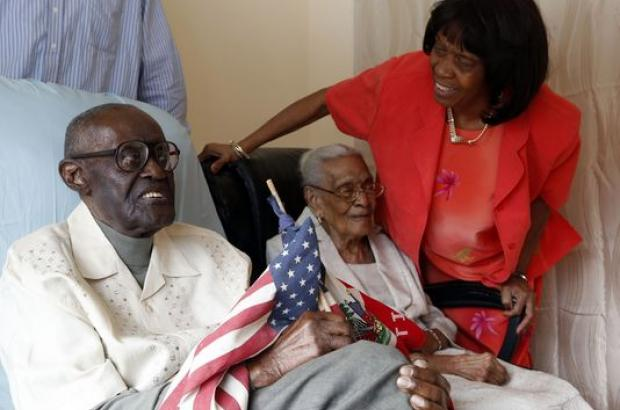 108 years old Husband and 105 years old wife celebrate 82 years of marri...
