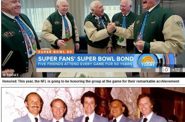 Meet the Five Super Fan of Super Bowl Since 1967