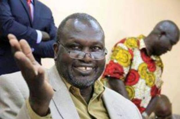 South Sudan Rebel Leader Machar Entitled as the First Vice Presid...