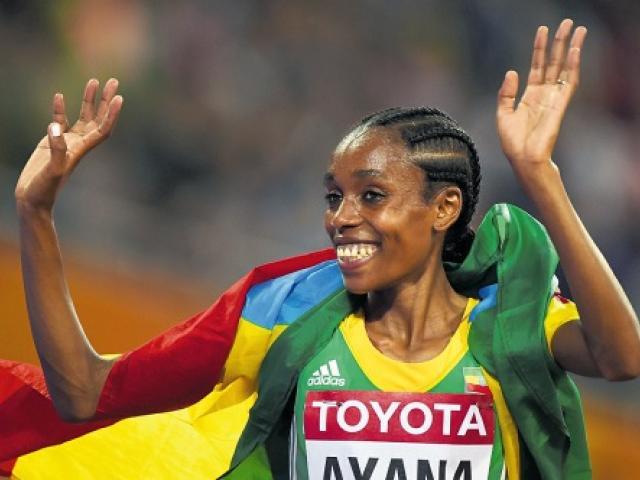 Ethiopia's Almaz Ayana Breaks World Record