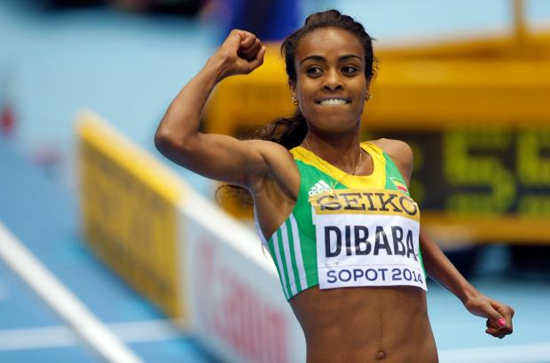 Genzebe Dibaba Crowned Best Athlete of the Year Award
