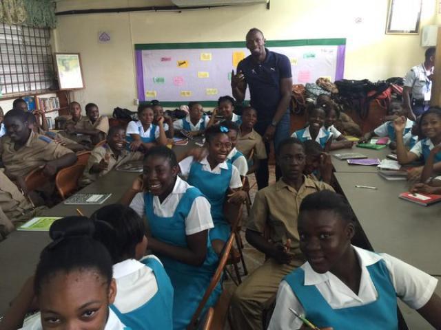 Generous Bolt Donates $20 Million to His Former School