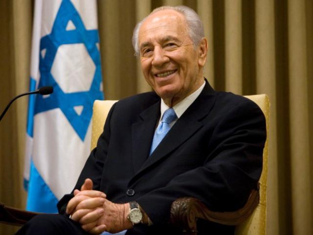 Nobel Prize Winner Former Israeli Leader Shimon Pere...