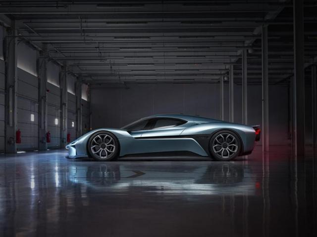 China's NextEV Launches NIO Brand And World's Fastest Electric Car
