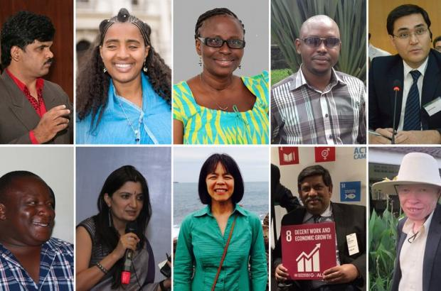 Yetnebersh Nigussie among 10 activists who fights for changing the lives of disabled people around the world