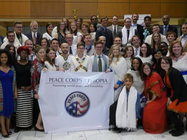 44 New Peace Corps Volunteers Sworn in at U.S. Embassy To Teach Ethiopians