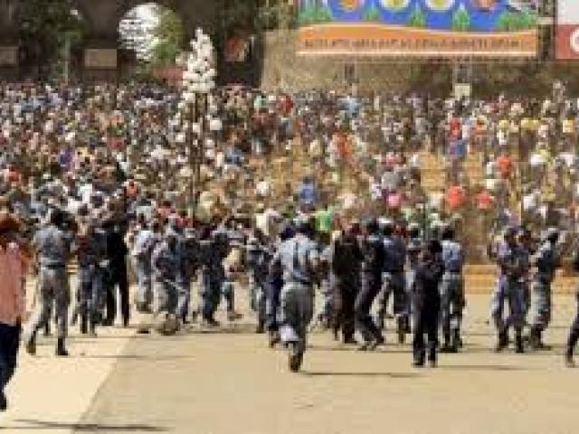 Unrest in Ethiopia, a country of the source of the Blue Nile