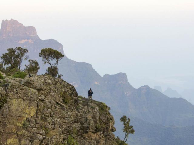 The Roof of Africa: Trekking Ethiopia's Simian Mou...