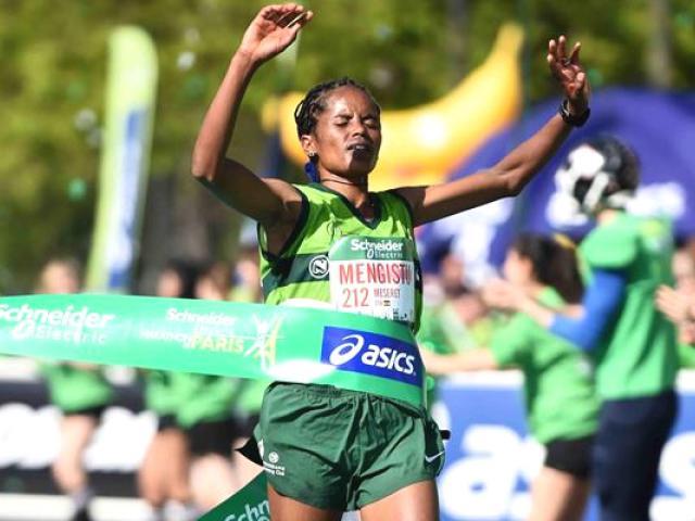 Ethiopian Athletes won the Beijing marathon