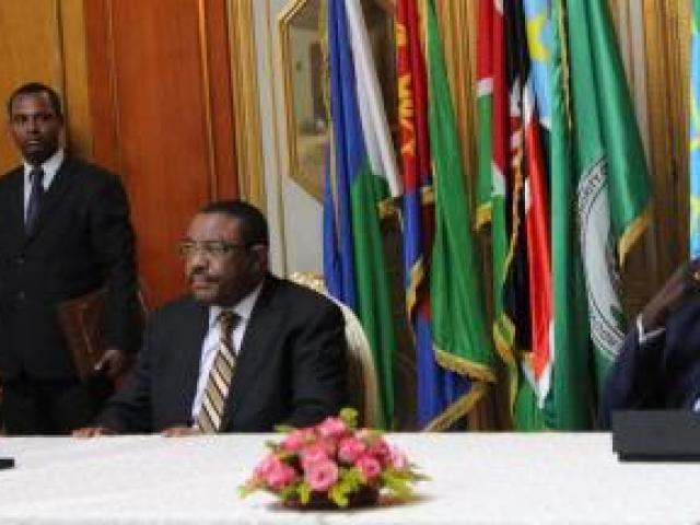 Ethiopian premier in Juba on one-day visit