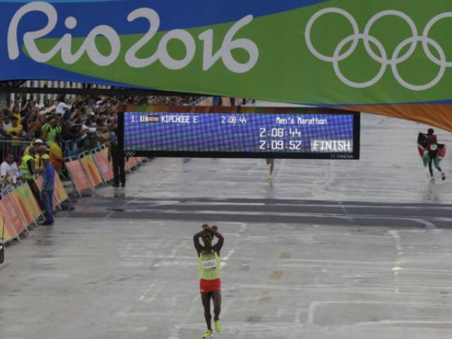 EBC Criticized for Censoring Lelisa's Finishing Line Marathon
