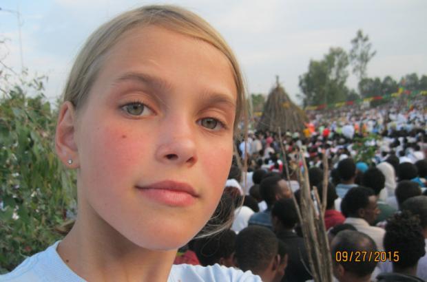 The 11 Year Old American Sidra Miller Speaks on Gender Inequality in Ethiopia