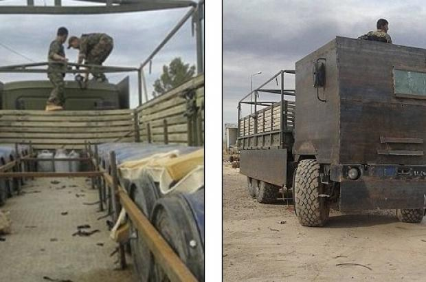 ISIS Truck Transporting Death